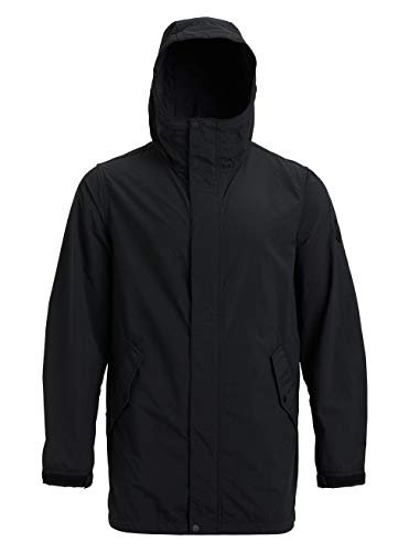 Burton Herren Nightcrawler Jacke, True Black, L