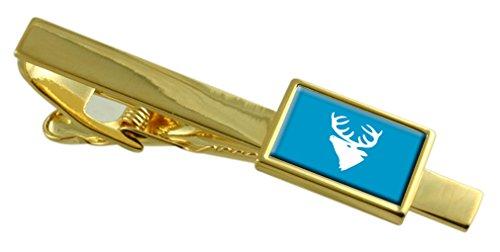 Select Gifts Hitra città bandiera della Norvegia oro Clip