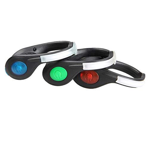 YUSDP Juego de 2 Luces de Destello de Seguridad para el Calzado...