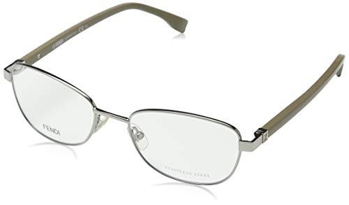 Fendi Brillengestelle FF 0012 7SR Rechteckig Brillengestelle 53, Grün