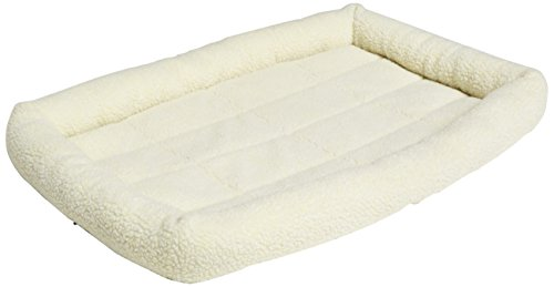 AmazonBasics Padded Pet Bolster Bed - 35 x 22 inches