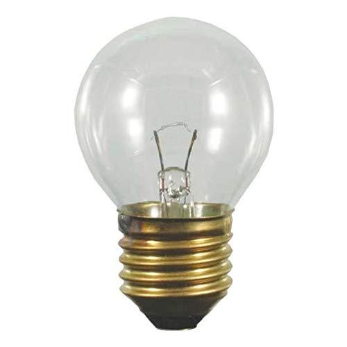 S+H Backofenlampe Kugelform 45x75 mm Sockel E27 240 Volt 25 Watt 300 Grad klar