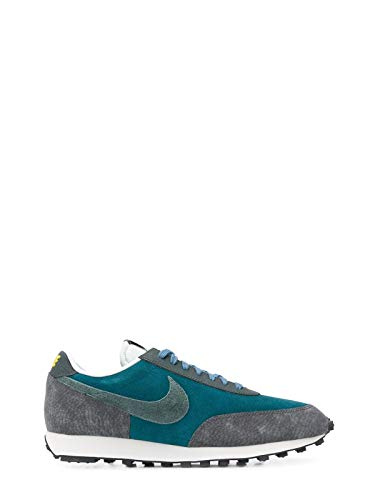 Luxury Fashion | Nike Heren CU3016300 Groen Leer Sneakers | Lente-zomer 20