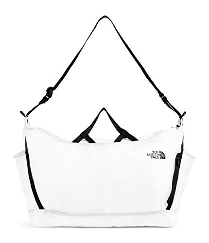 The North Face Flyweight Duffel, TNF White, OS