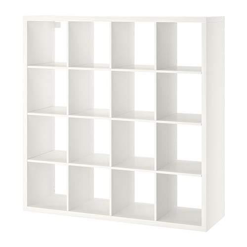 """Ikea ' New KALLAX Shelf Unit White, 57 7/8x57 7/8"""""""