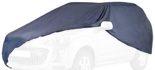 """CARTREND 70331 Vollgarage \""""New Generation\"""", Auto Abdeckplane, wetterfeste, waschbare Abdeckung, Polyester blau, mit Aufbewahrungstasche, für VW Touran u. ä. Modelle"""