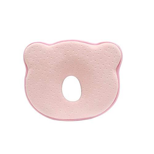 Muitar Almohada de bebé 3D de espuma de memoria para cabeza y cuello, almohada para recién nacido