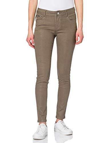 Morgan Pantalon Enduit Praline Pants, THYM, T38 Womens