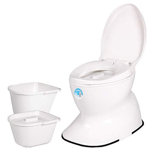 Draagbare Zwangere Vrouwen Oude Volwassen Mobiele Toilet Kruk Niet-slip Deodorant Keramische Toilet Stoel