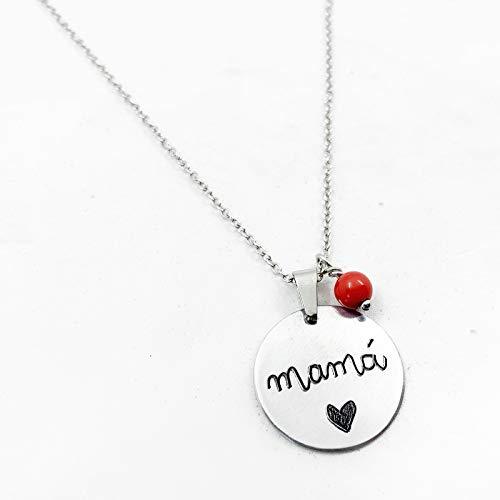 Colgante mamá personalizado, regalo para mamás, mama primeriza