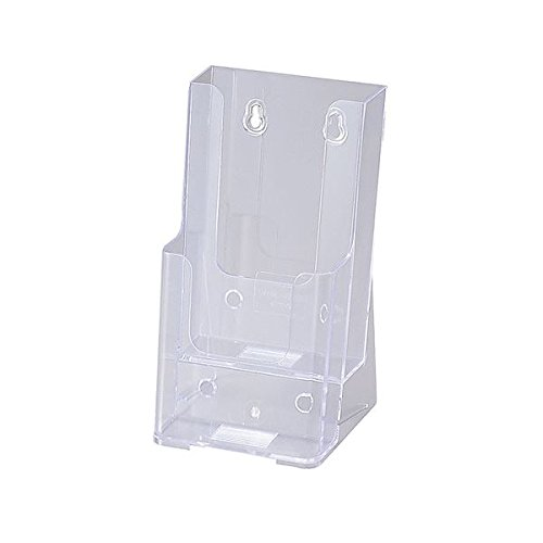 セキセイ カタログスタンド A4 3つ折2段 外寸W111×H210×D108mm CSD-2776 1個 (×10セット)
