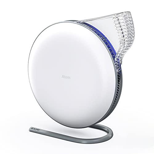 IQAir [Atem Desk Personal Air Purifier [HyperHEPA...