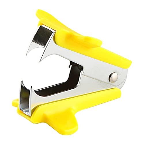 Removedor de grapas Tianse removedor de grapas escolar papelería oficina suministros grapadora soporte portátil estándar metal 138 * 60 * 45mm herramienta removedor de grapas