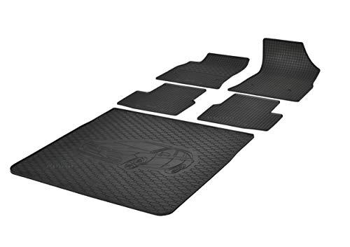 Kofferraumwanne und Gummifußmatten RIGUM geeignet für Opel Astra K Sports Tourer Kombi 2015-2021 Perfekt angepasst + Auto DUFT