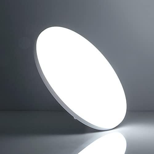 LED Lámpara de Techo 36W 6500K, Leelike Plafon LED Techo Modern 3240LM Plafón Led para baño Dormitorio Cocina Sala de estar Comedor Balcón Pasillo Oficina