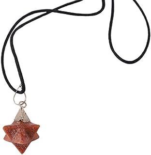 Aatm Energy Generator Lapis Lazuli and Rose Quartz Orgone Pyramid for EMF Protection Chakra Healing Meditation with Copper...