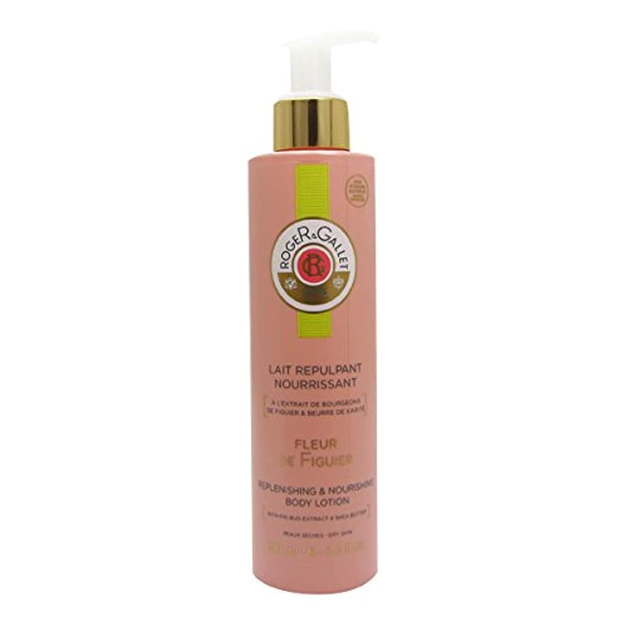 増強うそつき病気Roger Gallet Fleur De Figuier Replenishing And Nourishing Body Lotion 200ml [並行輸入品]