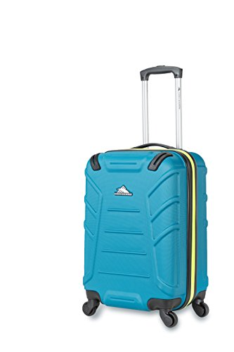High Sierra Rocshell Hardside Spinner Luggage, Sea/Zest, Carry-On 20-Inch