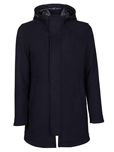 Herno Luxury Fashion Herren PC0106U396019290 Blau Polyamid Mantel | Herbst Winter 19