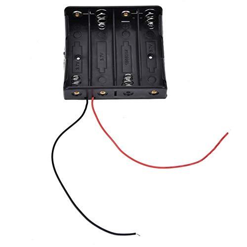 Caja de batería de almacenamiento de batería confiable de plástico de alta...
