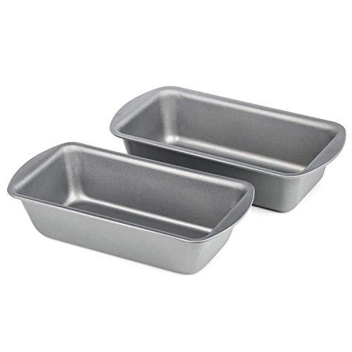 Dawsons Living Loaf Tin Set - Non Stick 1 lb and 2 lb Bread Pans - Premium...
