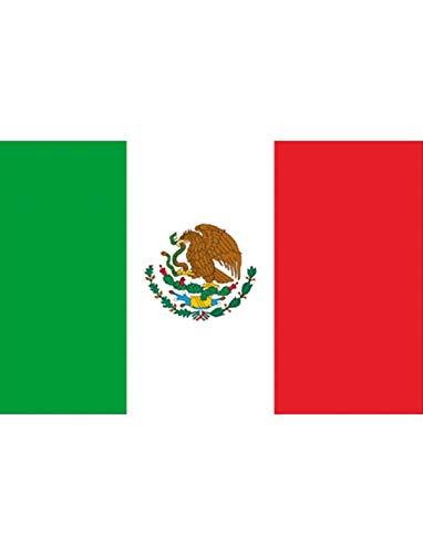 """TrendClub100® Fahne Flagge """"Mexiko Mexico Mexican MX"""" - 150x90 cm / 90x150cm"""