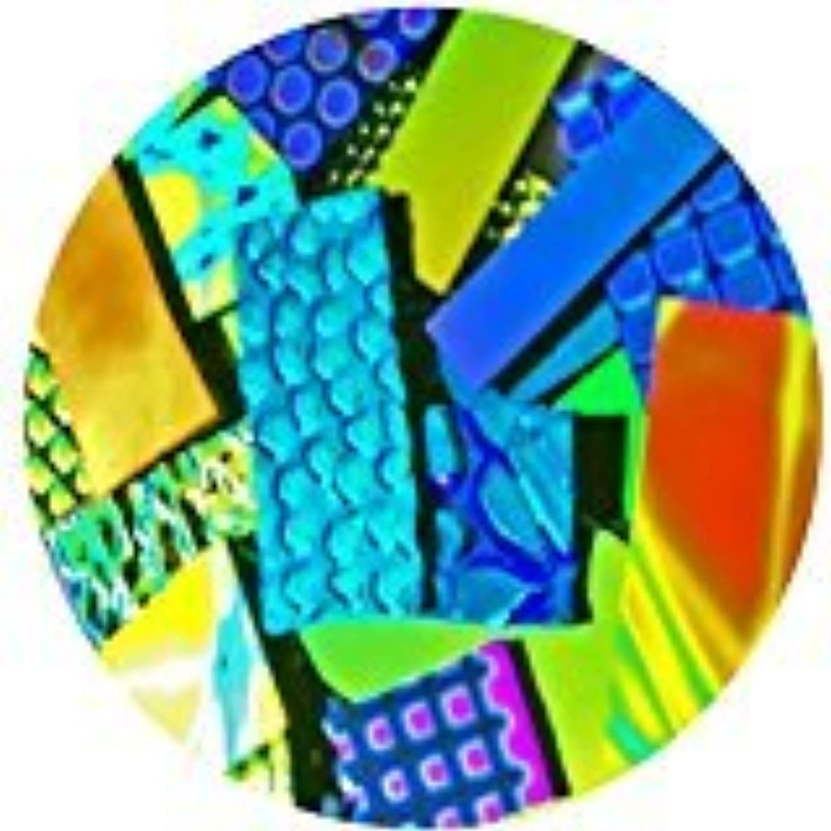 1-ounce Deluxe Dichroic Pieces 96 COE Fusible Glass, Assorted Colors
