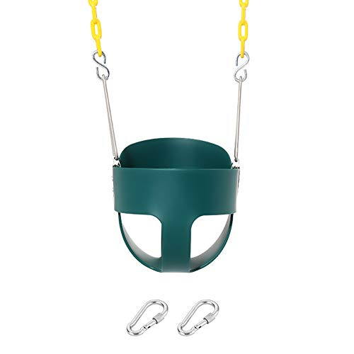 Our #3 Pick is the Take Me Away High Back Full Bucket Toddler Swing Seat