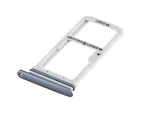 ICONIGON Ersatz für Galaxy S7 Edge Dual (SM-G935FD) SIM/SD-Kartenhalter (Schwarz)