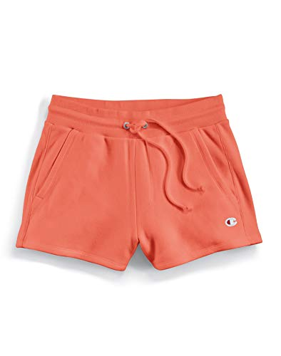 Champion LIFE Reverse Weave Shorts Groovy Papaya XS