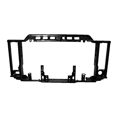 2017-2019 Chevrolet Silverado 2500 Front Radiator Support; For 2500/3500 Models; With 6.6L Diesel Engine; Made Of Steel Partslink GM1225388