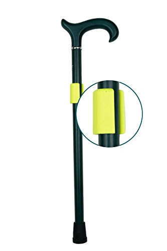 Preisvergleich Produktbild HELD Gehstock-Halter für Krücken in neongelb von SALJOL