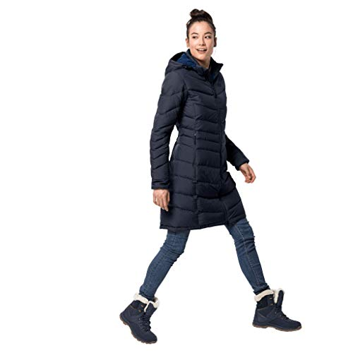 Jack Wolfskin Damen Selenium Mantel, midnight blue, XL