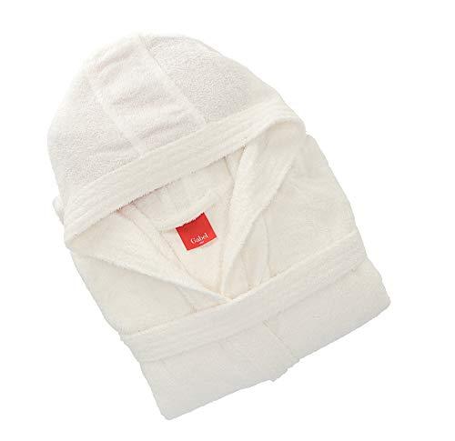Gabel 09200 10 Accappatoio Adulto, 100% Cotone, Bianco, M