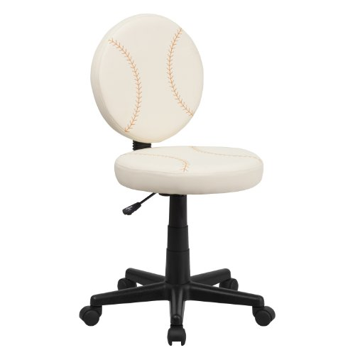Flash Furniture Baseball Swivel Task Office Chair