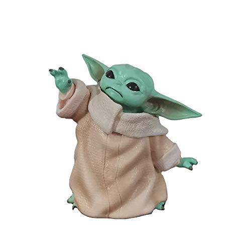 HIMFL Guerra de Las Galaxias 7,5 cm Figura de acción Modelo de decoración PVC Figurilla Regalo de colección Muñeca Regalos Cosplay