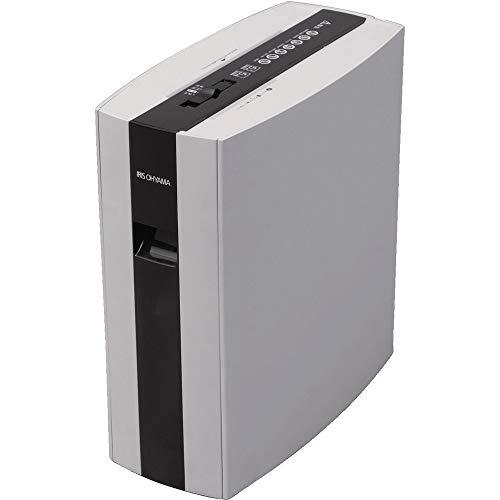 アイリスオーヤマ 細密シュレッダー 細密カット 2×10 A4 静音タイプ PS5HMSD ホワイト