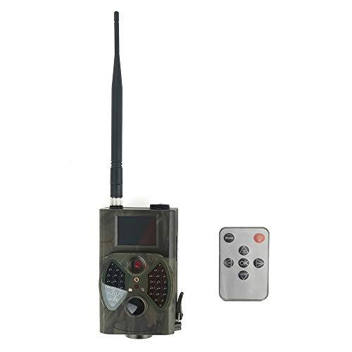 MOZUN Cámara Infrarroja Digital de Alta Definición Cámara de Vigilancia de Trabajo Automática de 1080P con Función de Seguimiento Digital MMS Adecuada para Monitoreo de Vida Silvestre