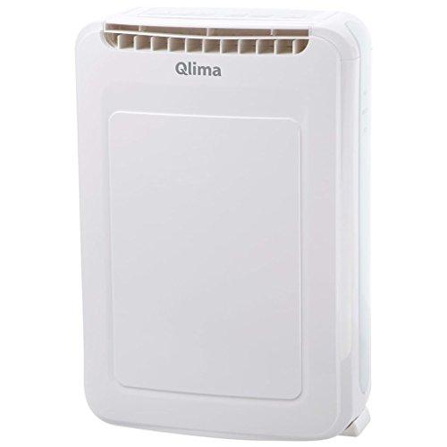 Qlima Déshumidificateur d'Air Electrique Salon Chambre 75 m³ 2 L Blanc DD 208
