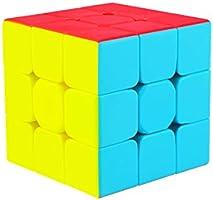 Cooja Cubo de Velocidad 3x3 Speed Cube, Cubo Magico 3x3x3 Smooth Magic Cube Puzzle Durable Regalo de Juguetes para Niños...