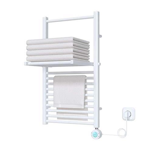Nuokix El Estante Plegable de Control Inteligente de baño Toalla de calefacción eléctrica en Rack del hogar Calefacción Eléctrica de Toallas eléctrico de Toallas radiador Secado Rápido