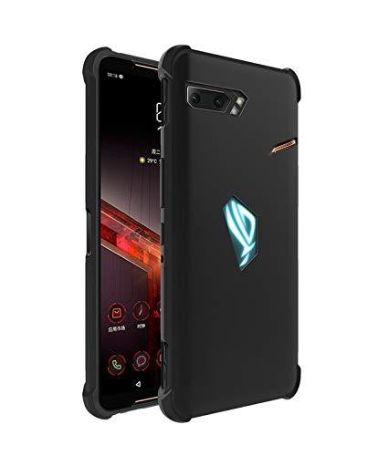 Prime Retail Matt Candy Back Cover for Asus ROG Phone 2 - Black