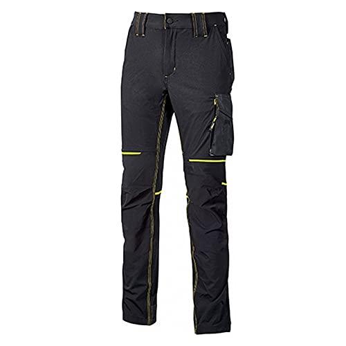 U POWER 1 Set di Pantaloni, Nero Carbonio, Taglia Unica Uomo