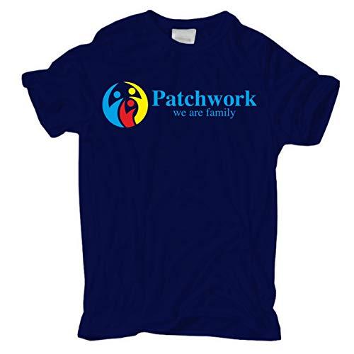 Männer und Herren T-Shirt Patchwork we Are Family Größe S - 8XL