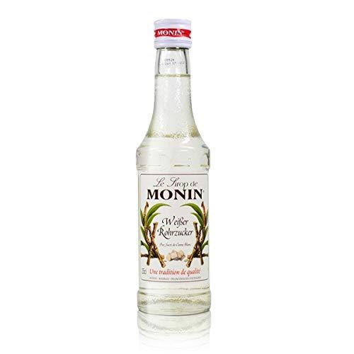 Gourmet-Sirup, Monin 'Rohrzucker Weiß', 250 ml