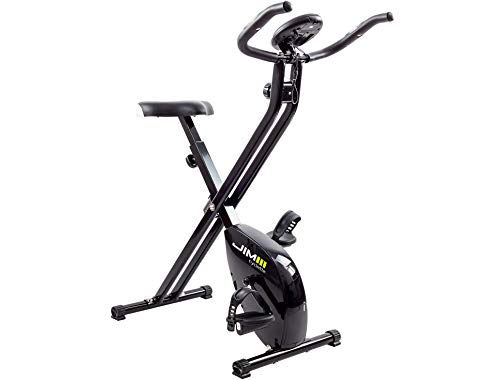 JIM Fitness Cyclette Sport Tech, nero