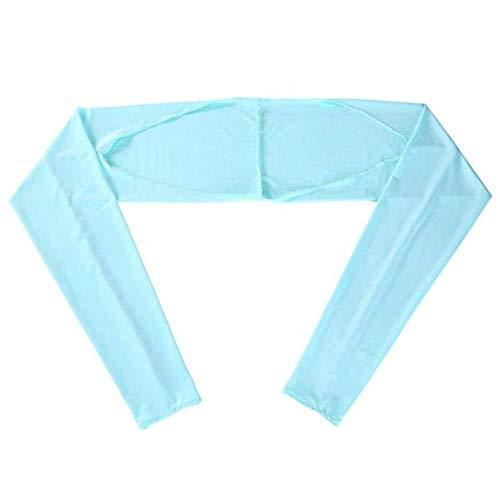 DFD Outdoor estate anti-ultravioletti abbigliamento braccio 4 signore scialle polsino guanti scialle manica di ghiaccio seta crema solare manica TL.