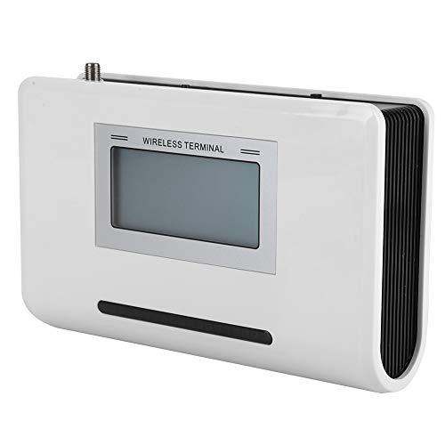 GSM Wireless Terminal, GSM 900 / 1800MHz LCD-scherm GSM Fixed Phone Terminal met externe antenne, 24-uurs werking (EU)