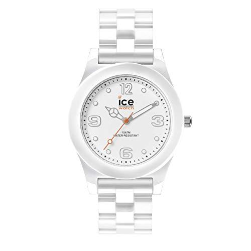 Ice-Watch - ICE slim White - Men's (Unisex) wristwatch with plaastic strap - 015776 (Medium)