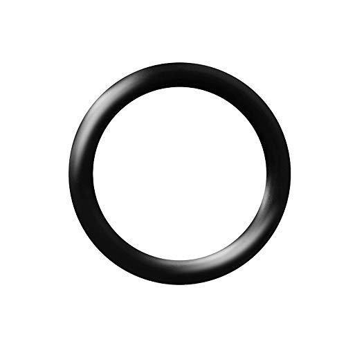 Piersando Ersatz Silikon Gummi O-Ring Ring Haltering Gummiring Stab Stecker Taper Dehner Expander Dehnstäbe 6,0mm schwarz